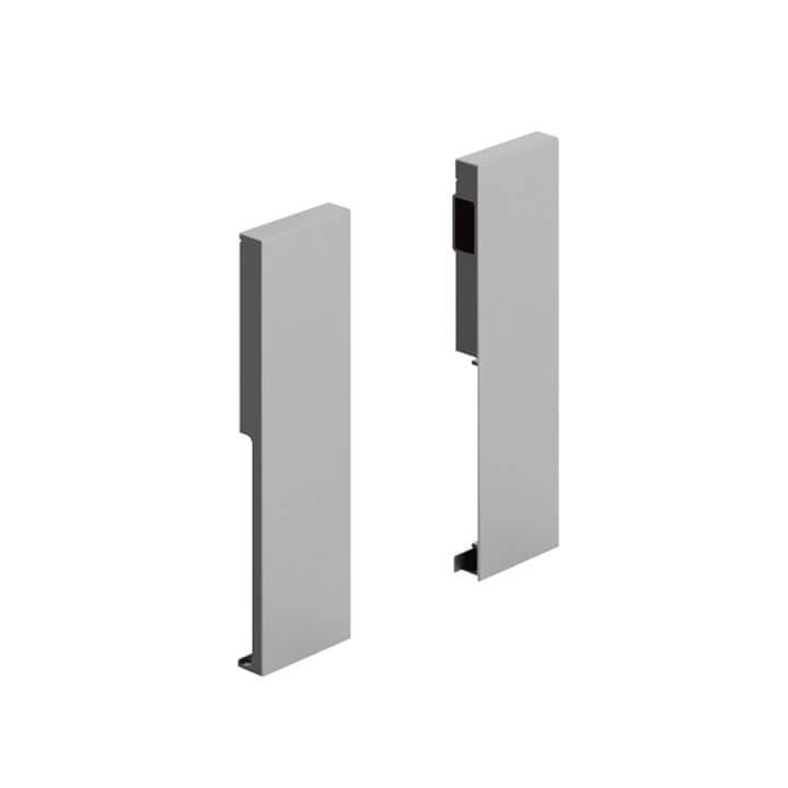 Hettich Innenschubkasten-Frontverbinder, ArciTech, 186 mm silber