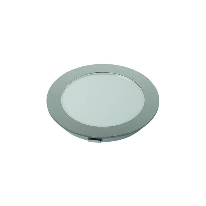 Halemeier LED Einbauleuchte LitePanel 68 Edelstahl Optik