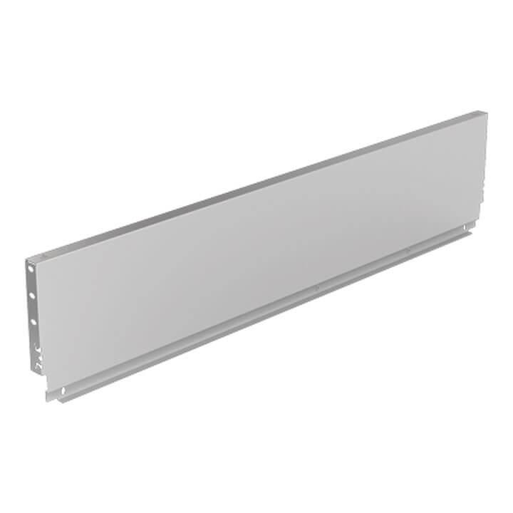 Hettich Stahlrückwand ArciTech 186 mm, silber