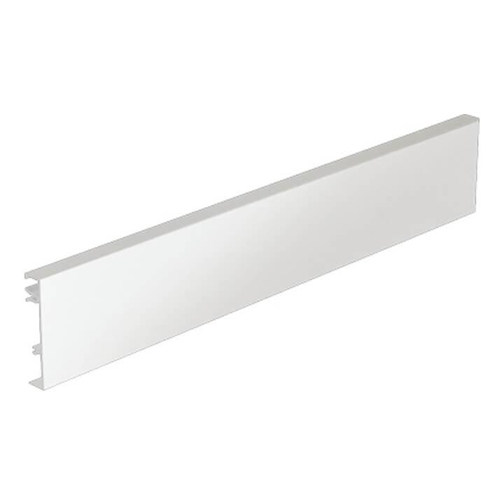 Hettich ArciTech Aluminiumrückwand 94 mm, weiß