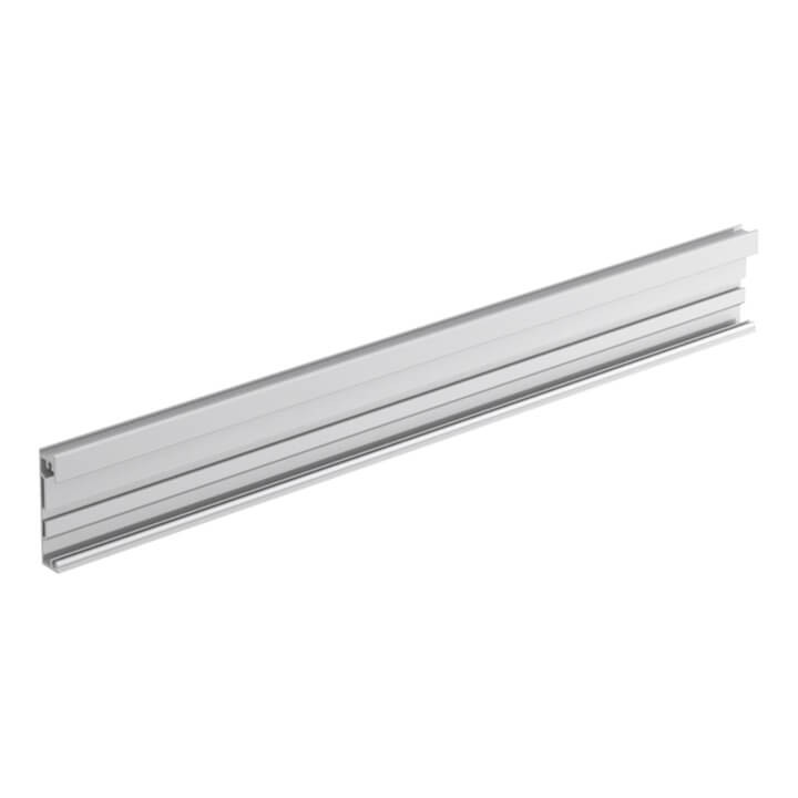 Hettich AvanTech Trägerprofil für gestaltbare Innenfront, silber