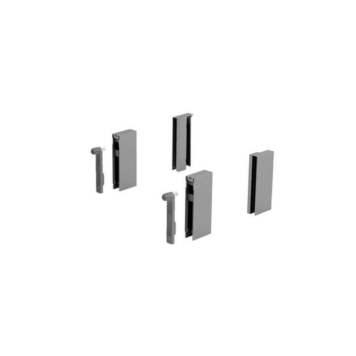 Hettich ArciTech DesignSide Adapter 92 mm Silber