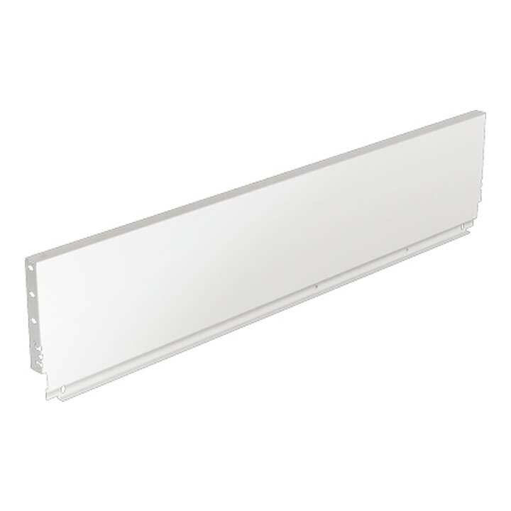Hettich Stahlrückwand ArciTech 186 mm, weiß