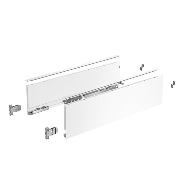 Hettich AvanTech YOU Set Zarge Höhe 139 mm Fb.:weiß