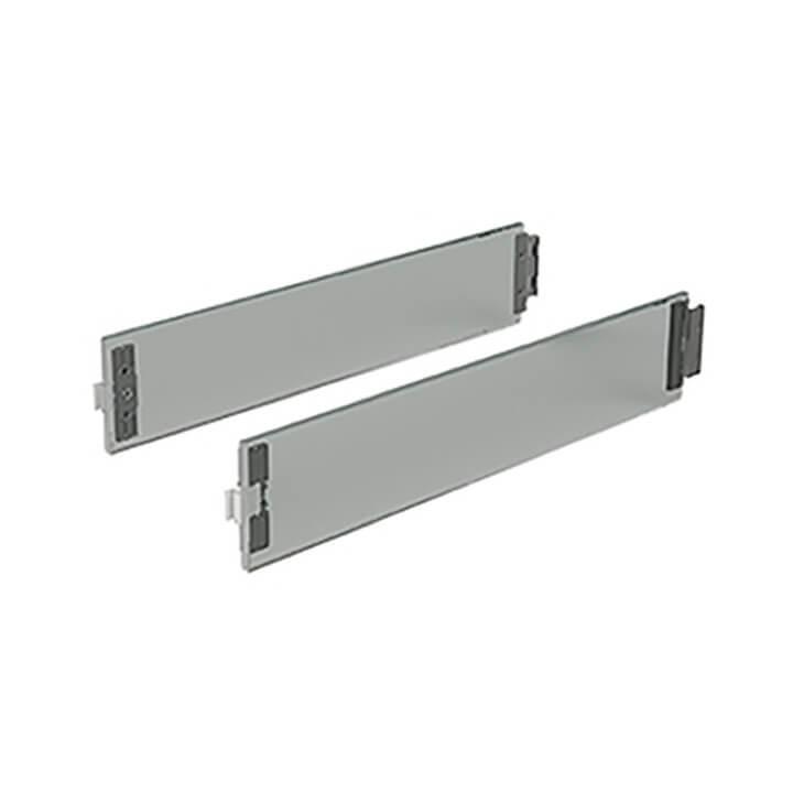 Hettich ArciTech DesignSide Glas grau 92 mm