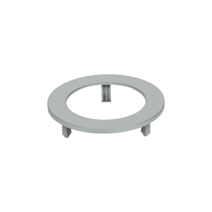 Halemeier LED MultiLite Flood-Abdeckring Farbe: Aluminium Optik