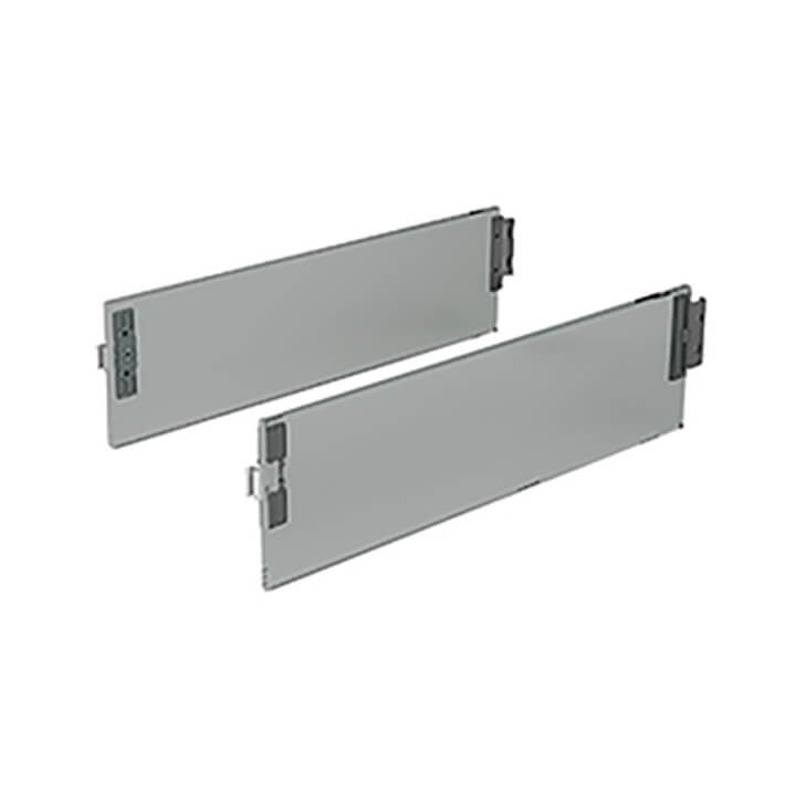 Hettich ArciTech DesignSide Glas grau 124 mm