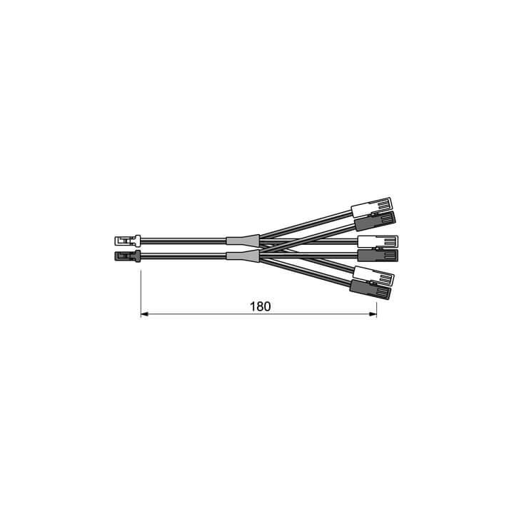 Halemeier LED 3-fach Verteiler Multicolor