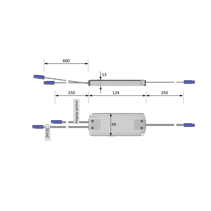 Repeater für LED Dimmer 72 Watt