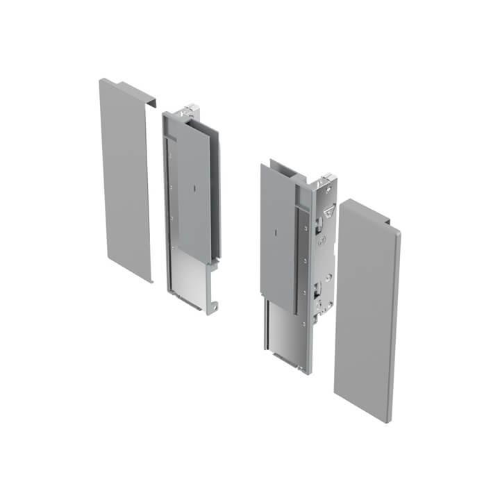 Hettich AvanTech YOU Verbinder für gestaltbare Innenfront Inlayzarge, Höhe 187 mm