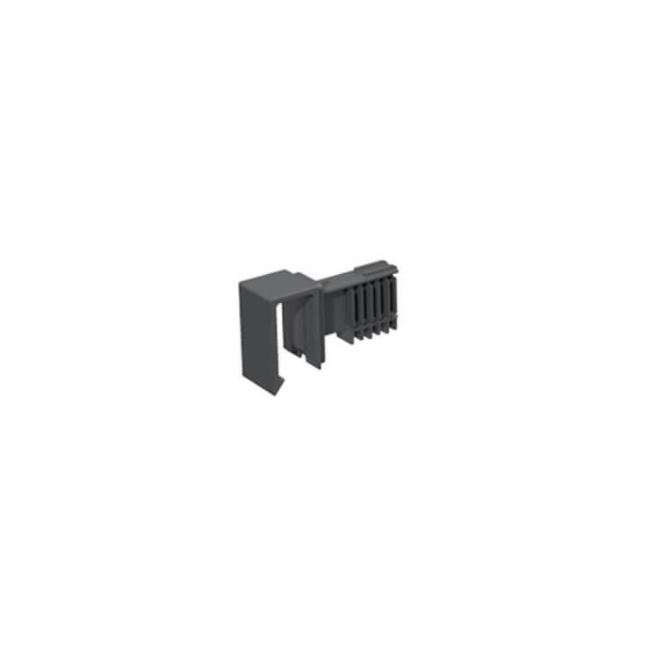 Hettich OrgaStore 400 Adapter, Anthrazit / silber