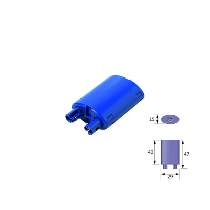 Halemeier LED 2-fach Verteiler MP2 24 Volt DC
