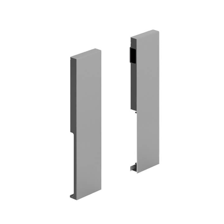 Hettich Innenschubkasten-Frontverbinder, ArciTech, 218 mm silber